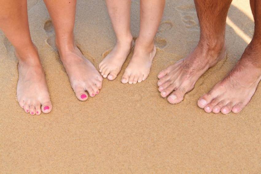 La beauté du corps passe aussi par celle des pieds