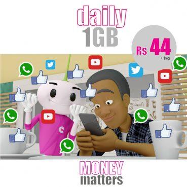 Daily 1GB at Rs 44