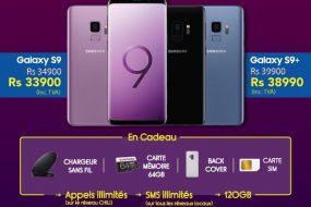 Les Meilleures Offres sur les Samsung Galaxy S9 | S9+