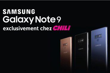 Laissez-vous séduire par le Samsung Galaxy Note 9 !