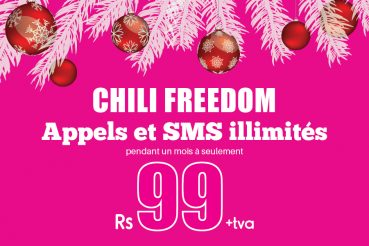Promo sur le package CHiLi Freedom
