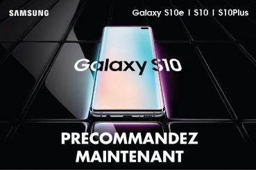 Découvrez le Samsung Galaxy S10