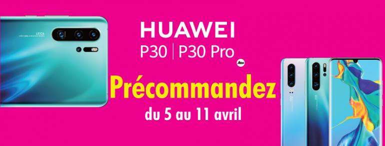 Découvrez le tout nouveau Huawei P30 et P30 Pro