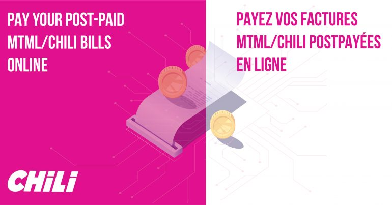 Pay your post-paid bills online