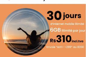 30 jours d'internet illimité